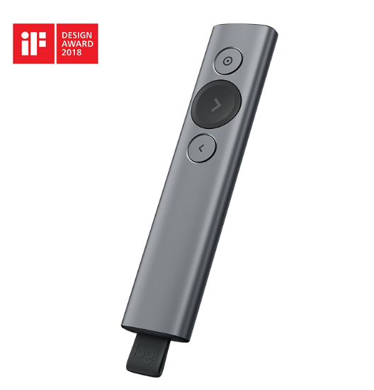 comprar mando logitech spotlight oferta powerpoint