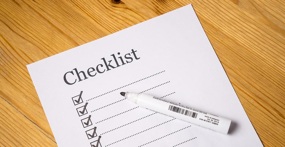 checklist para preparar una presentacion